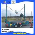 outdoor new designed wholesale prfessional big kid trampoline