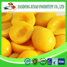 2014 organic canned yellow peach