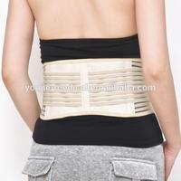 neoprene magnetic waist back support belt band with suspender D18