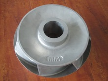 precison casting part stainless steel / carbon steel impeller