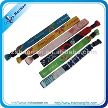 2015HaoNan handicaft manufacturer New product custom medtech wristbands