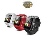 Bluetooth U8 watch Wristwatch U Watch Smart Watch for 4S/5/5S/6 Samsung S4/Note 2/Note 3 HTC Android Phone