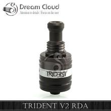 DREAM CLOUD 2014 mechanical mod atomizer trident v2 atomizer lotus rda rebuildable trident v2 rda/tank