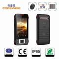 Andriod смарт-3g телефон читателя с датчик отпечатков пальцев/вч тм/контактic карты