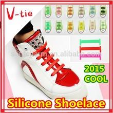 Wonderful fashion kids favor personalized novelty gifts silicone shoelace