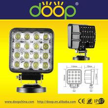 4x4 offroad waterproof IP67 led worklight heavy duty