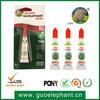 All purpose Clear Super Glue liquid made in Taiwan