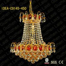 C9145 black white chandelier fabric,led modern chandelier