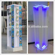 clear acrylic mobile phone display shelf
