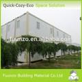 Customized durable plat.- blocsemballage préfabriquées, refuges pour dortoir
