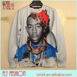 DH638# Fashion 3D Tyler the creator printed women sweaters pullovers mark OFWGKTA leader hoodie sweatshirt