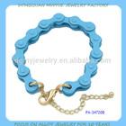fancy Motorcycle chain bracelet