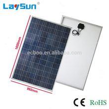 Laysun 75w solar panel price have pass ce rohs fcc ul