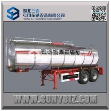 30cbm 35cbm 40cbm 2axles heated bitumen semi trailer Liquid asphalt tanker trailers for sale