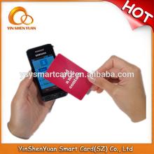 Custom NTAG 203/ Fudan F08 classical rfid nfc business card