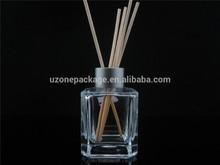 Air freshener aroma glass bottle with rattan sticks