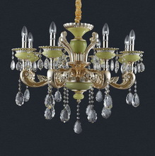 Contemporary CE Large Crystal Victorian Chandelier
