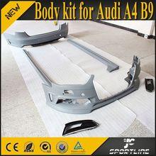 High quality PU A4 Car Body Kits For Audi A4 B9 2013 2014