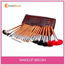 Andor Private label 24pcs professional cosmetic makeup brush