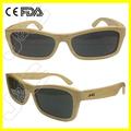 Wayfarer de encargo polarizadas de madera los nombres de la italianos marcas de gafas de sol