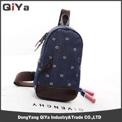 Canvas waist bag for Ipad,shoulder waist bag