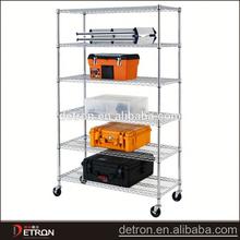 adjustable Chrome industrial shelving storage