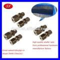 personalizado de latón torneado cnc shafs para tubos de alambre de dongguan oem cnc pequeño machied para piezas de precisión partes de equipos médicos