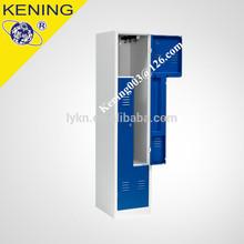New design hot sale Z shape door steel lockers