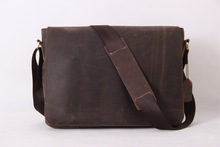 Vintage Leather Men Messenger Bag