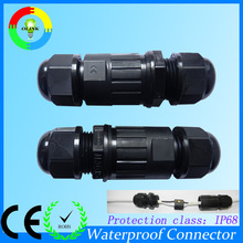 IP68 Underwater connector 2way 3 pole M20 cable joiner