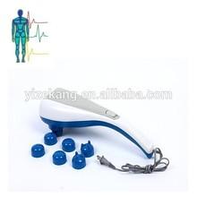 2014 best massage hammer ABS material and streamline design handheld best infrared massage hammer