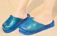 New beautiful nude girls PVC japan massage slippers