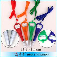 Promotional bottle opener ballpoint pen