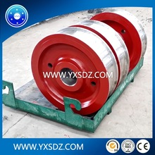 YXS students crane wheel and large forgings forging production