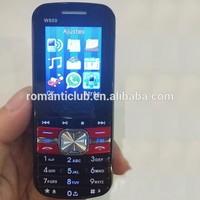 low price china mobile phone 1.77inch W800 1200mAh dual sim telefono