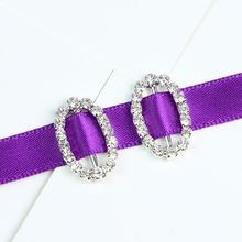 fashion jewelry crystal rhinestone buckles for wedding invitations