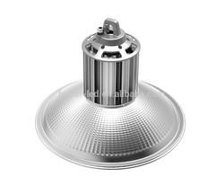 Dimmable IP65 aluminum fins 80Ra 100 lumen per watt led industrial hibay light 70W