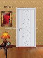 Venda quente do pvc porta de madeira, fibra porta do banheiro, porta de madeira janela modelos