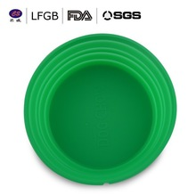 China wholesalers hot sale silicone dog bowl / pet water food feeder collapsible long life use