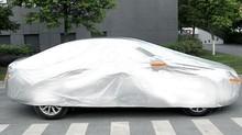 Aluminum film car protecting cars cover