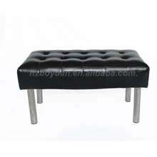 Long Sitting Bench,Leather Bench,Furniture For Shoe Store
