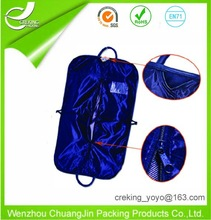 TDC Exhibitor,D&B checked and BV verified customized various suit bag leather suit bag