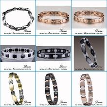 Alibaba website top sale tungsten magnetic bracelets for men