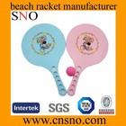 wholesale plastic kids toy beach racket ball