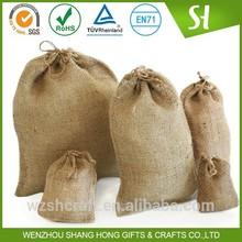 Wholesale European Standard 100% Eco Friendly large coffee bean jute bag100kg