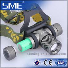 dongguan factory supply SME-T103 300 lumen 18650 Battery miner torch light