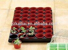 plastic nursery flower pot tray
