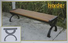 Customized Wooden&Metal Garden Bench,Street Beach,Park Bench