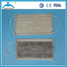 High Filtration Carbon 4ply face mask individual packing