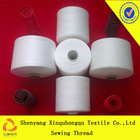 T60s/3 large spool raw white 100% Yizheng polyester sewing thread supplies in China